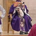 Un preot din Mexic a oficiat liturghia cu catelul in brate. Explicatia unui gest neasteptat