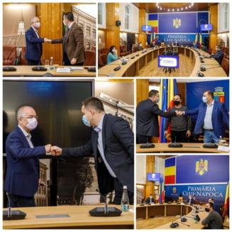 """Un primar de sector s-a dus la Cluj sa ia lectii de """"bune practici"""" de la Emil Boc. """"E fain atunci cand calitatea lucrarilor este normalitate"""""""