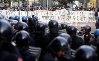 Un protest al victimelor cutremurului din L'Aquila a degenerat in violente