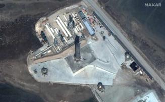 Un prototip al viitoarei rachete Starship apartinand SpaceX a explodat la aterizare, in Texas