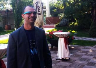 Un roman, primul programator din lume care a facut un joc pentru Google Glass