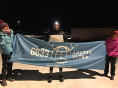Un roman a castigat cursa de 120 de mile de la ultramaratonul de la Polul Nord