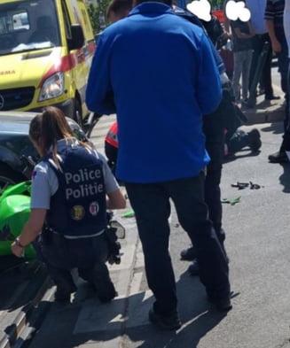 Un roman de 21 de ani a fost accidentat mortal la Bruxelles: Soferul a fugit