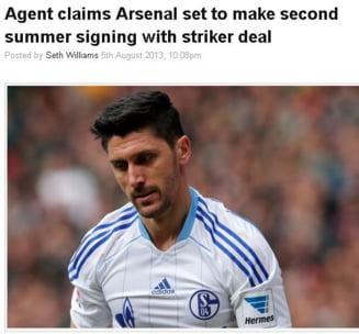 Un roman la Arsenal? Cum comenteaza presa engleza