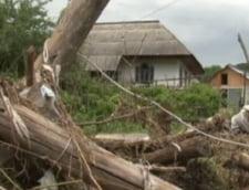 Un sat din Bacau a ramas cateva zile fara apa din cauza alegerilor: Am scos noroiul din sectie