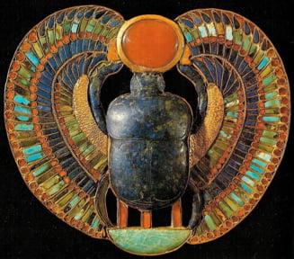 Un scarabeu dintr-un mormant din Memphis va fi expus la Muzeul National al Banatului. Este o amuleta cu o putere speciala