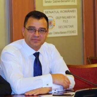 Un senator a demisionat din PSD: Dezbaterile provocate de mine au deranjat si am fost izolat