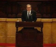 Un separatist ferm a fost ales noul lider al Cataloniei