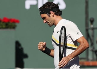 Un singur roman l-a invins in cariera pe Roger Federer, din 15 partide oficiale
