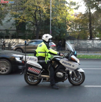 Un sofer a fost prins circuland cu 238 km/h