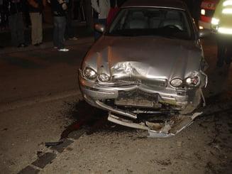Un sofer care avea carnet de sapte zile a provocat un accident in Bucuresti (Video)