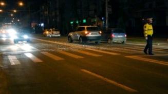 Un sofer de 36 de ani aflat sub influenta drogurilor a lovit un pieton in Focsani si a parasit locul accidentului