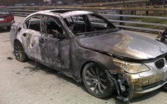 Un somer german a incendiat 100 de masini de lux