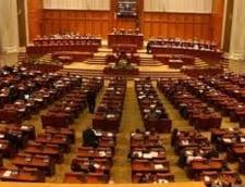 Un spectacol lamentabil in Parlamentul Romaniei