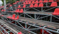 Un stadion din Romania a fost distrus aproape in totalitate dupa marele derbi al Vestului