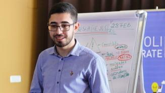 Un student la Drept din Constanta, desemnat Tanarul European al Anului 2021. El este cunoscut pentru lupta dusa pentru drepturile elevilor si reforma invatamantului