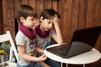 Un studiu ofera cifre ingrijoratoare. 43% dintre copii au vorbit cu persoane necunoscute pe internet, iar unul din trei s-a si intalnit cu oameni necunoscuti