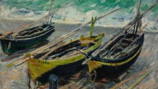 Un tablou cu nuferi realizat de Claude Monet ar putea fi vandut la licitatie cu 40 de milioane de dolari