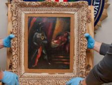 Un tablou de Marc Chagall, descoperit la 30 de ani dupa ce a fost furat. Hotul scapa nepedepsit
