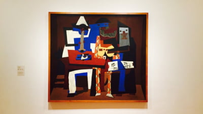 Un tablou de Picasso, expus intr-un supermarket dintr-o suburbie pariziana