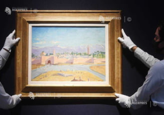 Un tablou pictat de fostul premier britanic Winston Churchill, vandut cu sapte milioane de lire sterline