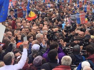 "Un tanar a venit la mitingul PSD pentru un plin la masina: ""Pai ne baga motorina!"""