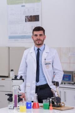 Un tanar bioinginer este castigatorul Marelui Premiu Euroinvent 2020, in valoare de 10.000 de lei, oferit de Fundatia Dan Voiculescu pentru Dezvoltarea Romaniei