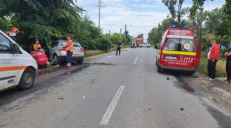 Un tanar de 25 de ani, din Corabia, a murit in urma accidentului de sambata dimineata