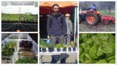 """Un tanar din Alba a renuntat la cariera din invatamant si din IT pentru a deveni agricultor: """"Pasiunea si placerea cu care cultiv plantele imi dau o libertate greu de descris"""""""