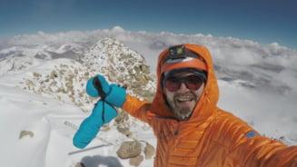 Un tanar din Petrosani a reusit sa cucereasca cel mai inalt vulcan din lume, situat in muntii Anzi