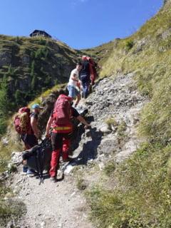 Un tanar disparut in Bucegi in urma cu peste o luna a fost gasit mort. Rucsacul lui a fost dus intr-o vale de ploile torentiale