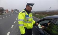 Un tanar fara permis a furat masina tatalui ,neimatriculata, si a fost prins la volan