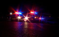 Un tanar giurgiuvean a intrat in coliziune cu un autoturism si a parasit locul accidentului