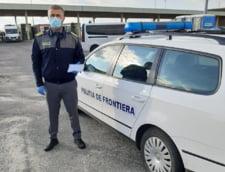 Un tanar roman, cautat de politia germana dupa ce a furat bunuri de sute de mii de euro, prins la Vama Albita cand incerca sa intre in tara