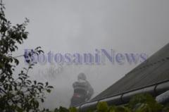 Un tanar s-a intoxicat cu fum in timp ce incerca sa stinga un incendiu
