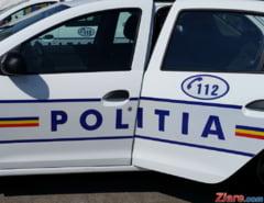 Un tir plin cu masini de spalat s-a rasturnat la Mogosoaia. Traficul a fost deviat