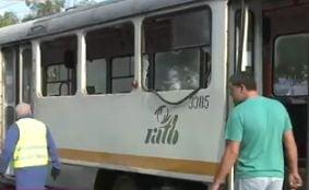 Un tramvai a luat foc in Bucuresti: Patru pasageri au fost raniti - UPDATE