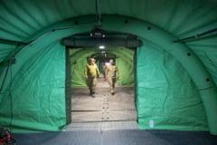 Un transport de 45 de tone de echipament medical din Coreea de Sud a ajuns la Bucuresti