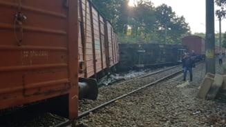 Un tren a deraiat in Mehedinti. Circulatia feroviara este intrerupta