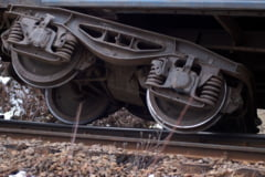 Un tren a deraiat in zona comunei Toplet - Pompierii mehedinteni au intervenit la evacuarea pasagerilor