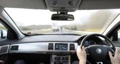 Un turist britanic aflat la volanul unui Jaguar, prins de radar cu o viteza ametitoare pe DN 1 in Sibiu