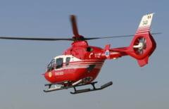Un turist ceh s-a ranit in Muntii Fagarasului: E in stare grava si a fost preluat de elicopterul SMURD