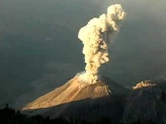 Un vulcan a erupt in Guatemala: cod portocaliu pentru aviatie
