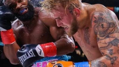 Un youtuber bate pe bandă rulantă campioni uriasi din lupte. Ultima victimă într-un meci urmărit de întreaga Americă a fost unul dintre cei mai buni sportivi din UFC VIDEO
