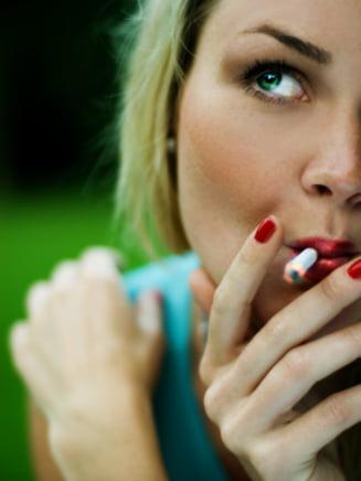 Una din cinci romance este fumatoare