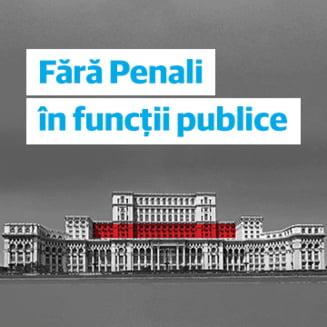 "Unda verde pentru initiativa USR ""Fara penali in functii publice"". CCR a decis ca e constitutionala"