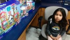 Unde a ajuns balonul unei fetite cu scrisoarea pentru Mos Craciun si cine i-a indeplinit toate dorintele (Video)