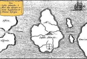 Unde a disparut orasul pierdut Atlantida, amintit de Platon?