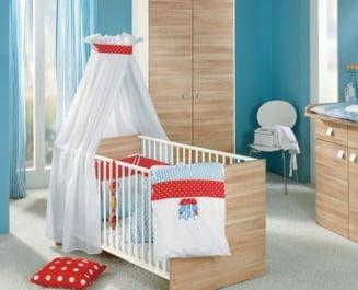 Unde asezi patul bebelusului