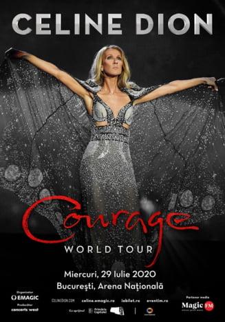Unde va canta Celine Dion la Bucuresti si cand se pun biletele in vanzare